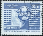 Stamps : Europe : Germany :  Karl Marz Stadt