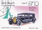 de Asia - Laos -  Coche de epoca- Ballot 1925