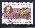 de Asia - Afganistán -  Coche de epoca- Benz Victoris 1893