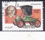 de Asia - Afganistán -  Coche de epoca- Ford A