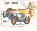 Stamps Nicaragua -  Coche de epoca- Daimler