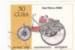 de America - Cuba -  Coche de epoca- Karl Benz 1885