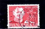 Sellos del Mundo : Europa : Dinamarca : Aniversario Frederick IX