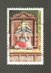 sello : Oceania : Australia : INTERCAMBIO