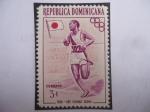 de America - Rep Dominicana -  Maratón-1936-Kee Chung Sohn (1912-2002)- Primer medallista surcoreano -Juegos Olímpicos de Berlín.