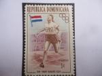 de America - Rep Dominicana -  Maratón- Atleta Neerlandesa - Fanny Blankers-Koen (1918-2004)