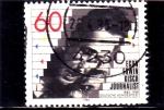 sello : Europa : Alemania : Egon  Erwin Kisch- periodista
