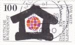 sello : Europa : Alemania : XVII Congreso Internacional de Economía doméstica, Hannover