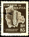 Sellos de America - Bolivia -  Primer congreso nacional de agronomía.