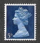 Sellos del Mundo : Europa : Reino_Unido : MH8 - Isabel II Reina de Reino Unido