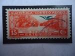 de America - Guatemala -  Río Dulce - Sitio de Interés Turístico y el Quetzal (Pharomachrus mocinno)