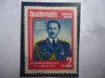 de America - Guatemala -  Coronel, Carlos Castillo Armas (1914-1957)- Presidente entre: 1954 al 1957)