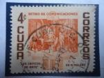 de America - Cuba -  La Critica del Arte - por Miguel Melero - Fondo de Jubilados para Empleados Postales.