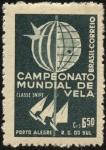 Stamps Brazil -  Campeonato mundial de vela clase snipe. Porto Alegre - Rio Grande Do Sul.