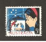 Sellos del Mundo : Oceania : Australia : INTERCAMBIO