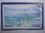 Sellos del Mundo : Europa : Francia : Centre - Región Central _Serie: Regiones de Francia - Paisajes.