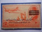 Sellos del Mundo : Africa : Egipto : King Farouk de Egipto (1920-1965) -Sobrestampado .(Valor del sello año 1952)