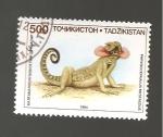 Sellos de Asia - Tayikistán -  RESERVADO MANUEL BRIONES
