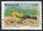 Sellos del Mundo : America : Brasil :  Canario da Terra