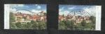 Sellos del Mundo : Europa : Alemania : 3235 y 3236 - Vistas de Rothenburg ob der Tauber