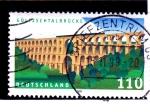 Sellos de Europa - Alemania -   Puente del Ferrocarril del Valle de Gálltzsch