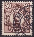 Sellos de Europa - Suecia -  Gustavo V