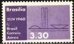 Stamps Brazil -  Inauguración Brasilia. Palacio Legislativo.