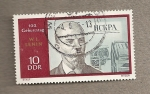 Sellos de Europa - Alemania -  100 años nacimiento Lenin