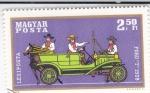 Stamps Hungary -  coche de época