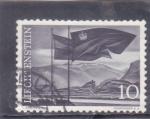 sello : Europa : Liechtenstein : BANDERA DE LA NACIÓN