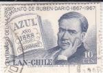 de America - Chile -  Centenario nacimiento de Ruben Dario