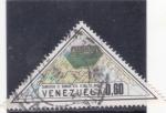 sello : America : Venezuela : Mapa