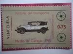de America - Venezuela -  Historia del Transporte-Metro de Caracas 1981-Lincoln Año 1923-Museo del Transp.Caracas.