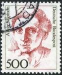 Stamps : Europe : Germany :  Alice Salomon