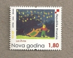 Stamps Croatia -  Año nuevo