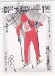 Stamps Asia - Cambodia -  OLIMPIADA DE INVIERNO SARAJEVO'84