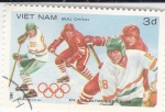 Stamps Asia - Vietnam -  OLIMPIADA DE INVIERNO SARAJEVO'84