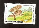 Stamps Asia - Maldives -  INTERCAMBIO