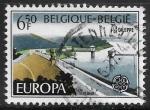 sello : Europa : Bélgica : Europa - Paisajes