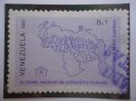 Sellos de Asia - Tailandia -  XI Censo Nacional  de Población y Vivienda - Para Venezuela todos cuentan.