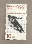 Sellos de Europa - Alemania -  Juegos olimpicos invierno Sapporo