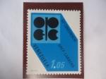 Stamps Venezuela -  50°Conferencia OPEC-Caracas - Emblema.