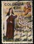Sellos de America - Colombia -  Santa Teresa de Jesús.