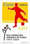 Sellos del Mundo : Europa : España : Centenario  Real Federación española de Fútbol