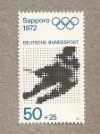 Stamps Germany -  Juegos olimpicos invierno Sapporo