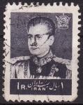 Sellos de Asia - Irán -  Mohammad Reza Pahlevi-Sha de Persia