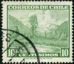 Stamps Chile -  Valle del Rio Maule