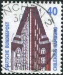 Stamps : Europe : Germany :  Chilehaus Hamburgo