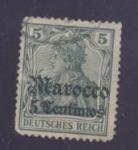 Sellos de Europa - Alemania -  marocco