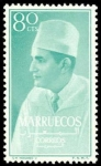 Sellos del Mundo : Africa : Marruecos : Reino independiente. Zona norte. Mohamed V
